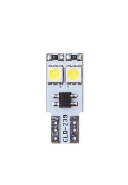 LED 12V T10 ALB CANBUS 5050SMD SET 2 BUC 92537 4CARS