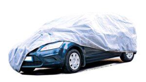 Prelata protectie auto M 1.5x3.85 m gri